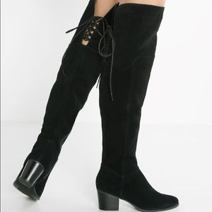 Aldo Jeffres Black Riding Boots Sz 8